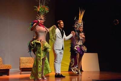 Amichi Oujeyma se despide del Teatro Latino
