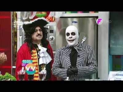 Villanos y recetas en el Halloween de Vive la Vida