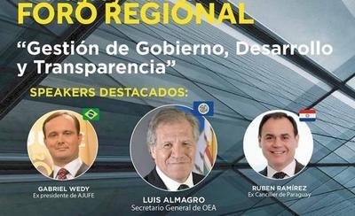 HOY / Paraguay será sede de importante foro regional sobre gestión de gobierno, desarrollo y transparencia