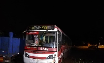 HOY / Motociclista  muere arrollado por un bus en Ñemby
