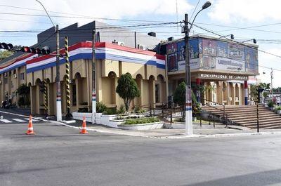Allanan Municipalidad de Lambaré por sospechas de desvíos