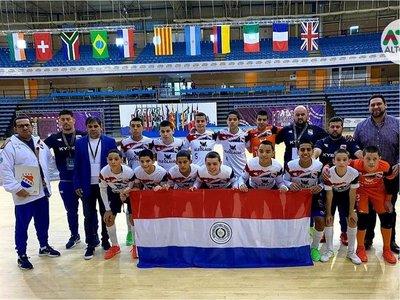 Paraguay, semifinalista del Mundial C13