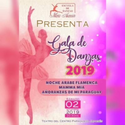 Festival De Clausura de la Escuela de Danzas María Asunción, en el Teatro del CPJ