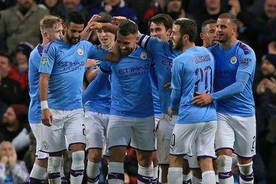 El City busca acercarse al Liverpool