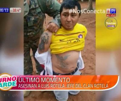 Asesinan al líder del Clan Rotela en Tacumbú
