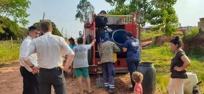 Acahay y Caapucú con emergencia sanitaria por falta de agua