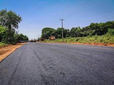 HOY / Inicia asfaltado de la Ruta del Progreso en Misiones
