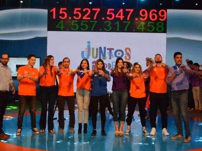 Continúa maratón solidaria de Teletón, camino a la meta