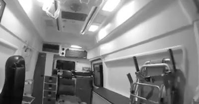 Ambulancia sin paciente da escalofríos