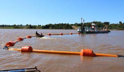 Piden al Gobierno intensificar tareas de dragado en ambas zonas del río