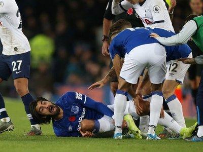 Escalofriante lesión en la Premier League