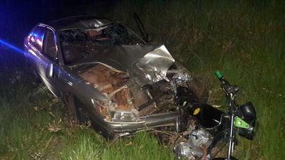 Dos jóvenes murieron tras choque entre vehículo y motocicleta