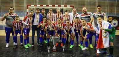 Paraguay campeón mundial C13 con dos concepcioneros