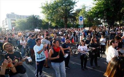Bajan en Chile la tensión social y las manifestaciones callejeras