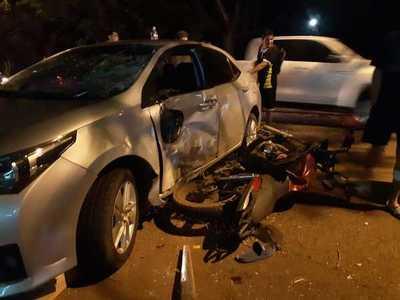 Tres motociclistas mueren en distintos accidentes de tránsito
