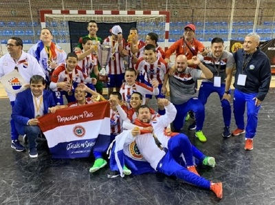 Paraguay Sub 13 se consagra en mundial de fútbol de salón