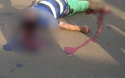 Hombre pierda la vida en accidente de tránsito en la Av. Perú