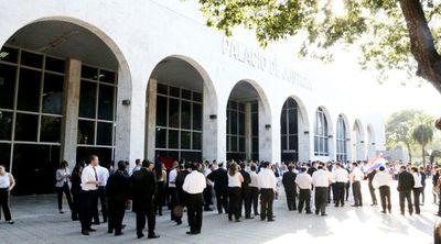 Huelga de un mes en Poder Judicial, Fiscalía y Defensoría, a partir del próximo lunes