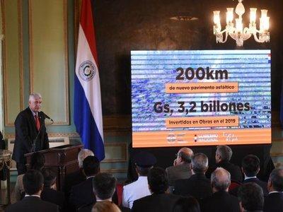 Gobierno busca dinamizar economía con varias obras de pavimentación