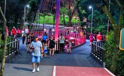 Casi 30.000 personas ya visitaron Parque Lineal en 12 días