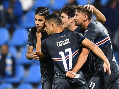 Ranieri suma su primer triunfo al mando del Sampdoria de Édgar Barreto