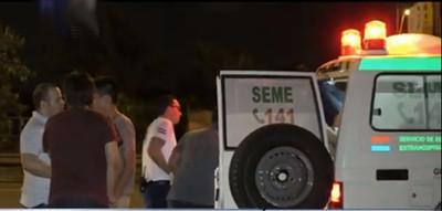 Cinco jóvenes se salvaron de milagro tras violento accidente de tránsito