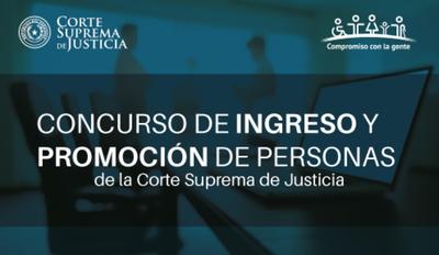 CSJ llama a concurso para cargos vacantes en Concepción