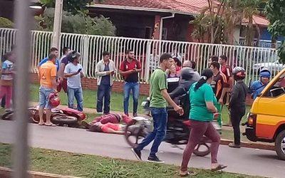 Mujer muere arrollada en la Av. Perú