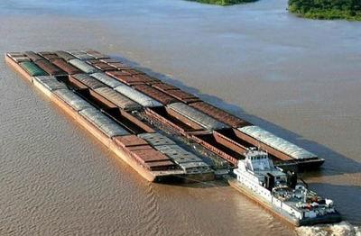 Bajante del nivel de los ríos perjudica enormemente al transporte fluvial
