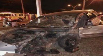 Accidente en inmediaciones del Hospital San Jorge deja cinco heridos