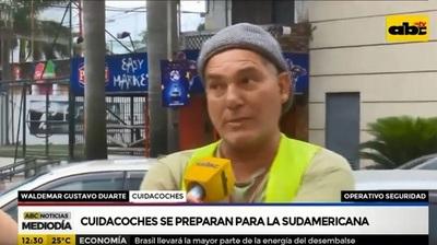 Cuidacoches anuncian tarifa para la final de la Sudamericana