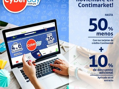 ¡El Cyberday llega a Contimarket.com!
