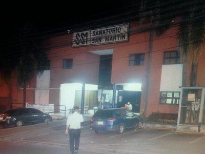 Sanatorio niega que acusado por feminicidio forme parte del plantel médico