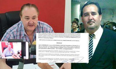 Gobernador entrega licitación para publicidad  a conocido extorsionador y estafador
