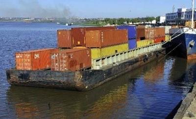 Transporte fluvial seriamente afectado por bajo nivel de los ríos
