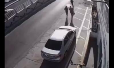 Creyeron que les iban a robar y esto fue lo que pasó