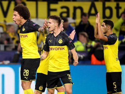 Achraf comanda remontata del Dortmund ante el Inter