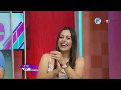 Larissa Riquelme visitó El Resumen