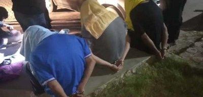 Tres adolescentes fueron detenidos tras una persecución policial