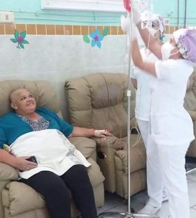 Enfermeras se capacitan para asistir a pacientes oncológicos