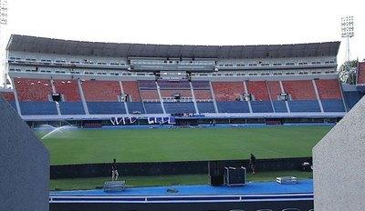 Finalistas de la Sudamericana se instalan en Asunción