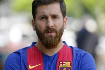 ¡Increíble pero cierto! Este hombre realmente no es Leonel Messi