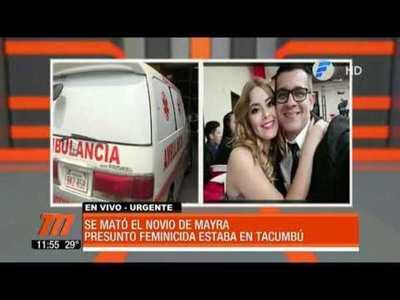 Novio de Mayra se mató en Tacumbú