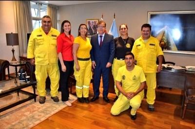 EBY renovará acuerdo con bomberos de Ayolas