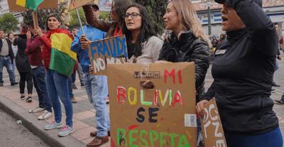 """""""Bolivianos contra bolivianos"""""""