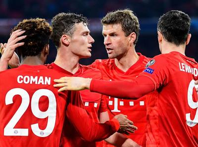 El Bayern a octavos de final de la Champions League