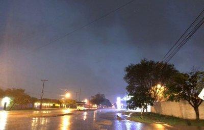 Concepción en la lista de los departamentos afectados por tormentas eléctricas