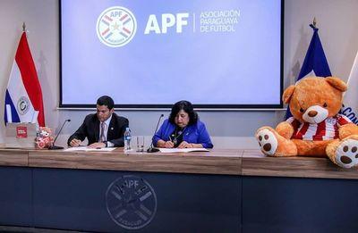 MINNA y APF firman convenio para erradicar violencia en niños mediante el fútbol