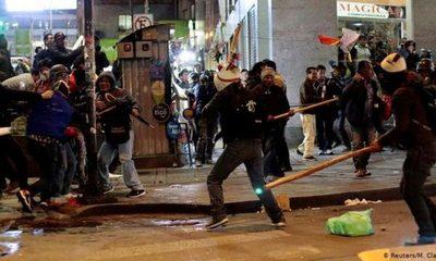 OEA condenó actos de violencia en Bolivia