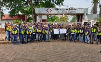 """""""Enjambre Amarillo"""" podría sitiar Fiscalía por muerte de mototaxista"""